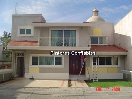 Pintura residencial pintura de casas edificios - Pinturas para casas exteriores ...